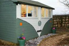 VW Bus idea for painting workshop or shed