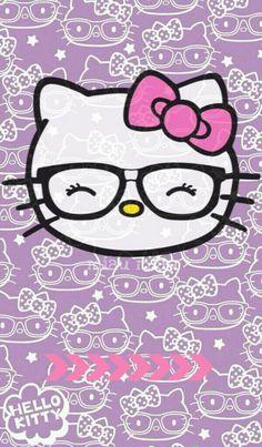 HK nerdy girl Sanrio Hello Kitty, Hello Kitty Art, Hello Kitty Coloring, Hello Kitty My Melody, Hello Kitty Items, Hello Kitty Halloween, Hello Kitty Birthday, Hello Kitty Backgrounds, Hello Kitty Wallpaper