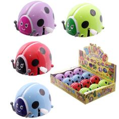 TY385 - Coccinella ricaricabile   Puckator IT #partybag #kid #idee #compleanno #bambini