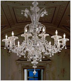 Murano due lighting Glass Bubble Hand Crafted Clear Murano Glass Lighting Artwork Traditional Venetian Murano Glass Chandelier With 12 Light Candles Ʀεƥɪииεð вƴ Homedit 15 Best True Light Of Murano Chandeliers Images Chandelier