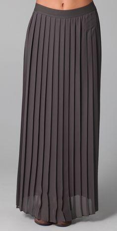 Ella Moss Debutante Maxi Skirt thestylecure.com