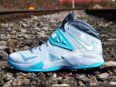 finest selection 546b9 04a4e Nike Zoom Soldier VII- Light Armory Blue, White, Gamma Blue, and Armory  Slate