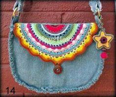 Crochet Purses, Crochet Doilies, Crochet Stitches, Yarn Projects, Crochet Projects, Crochet Baby, Knit Crochet, Bazaar Ideas, Clothes Refashion