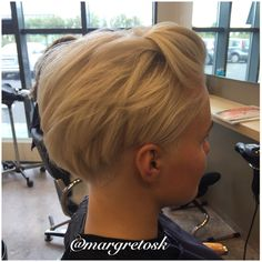 Short hairstyles for women 2015  Shaved undercut and longer on top