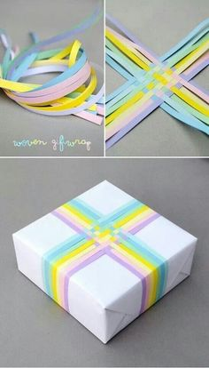Cute package with ribbons