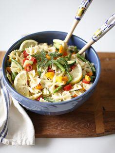 Lemon Dill Pasta Salad