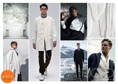 Key Seasonal Direction, F/W 2016 - 2017, Men's trend: FJORD. #weconnectfashion.com #ArenaInternationalUK