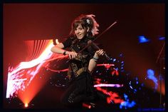 Lindsey Stirling.  Such a great shot.