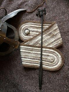 Nalbinded scarf Shetland wool