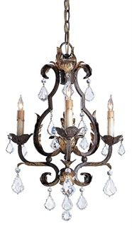 Tuscan Chandelier, Small