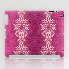 Batik Damask_Pink iPad Case by Rebecca Stoner - $60.00