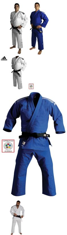 Other Combat Sport Clothing 73988: Adidas Judo Gi Suit Uniform Champion Ii Blue White Ijf Approved Heavyweight -> BUY IT NOW ONLY: $139.99 on eBay!