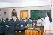 In 1984 the Generalate established the Nairobi Region, with the regional house in Karen, and stations in Ruaraka and Chesongoch. The first profession of a native sister from Uganda took place that same year. Sacred Heart Convent was dedicated in 1985. For many years initial formation members came from Peramiho, Ndanda, Uganda, Angola, Namibia and Kenya until they could receive formation in their own priories or regions.