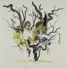 'Mud' vinyl artwork designed by Tomer Hanuka.