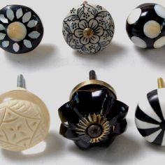ebay mixed vintage drawer handles | repurposed furniture ideas