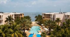 Key West hotels featuring Key West Marriott Beachside Hotel. Hotel beach weddings, wedding receptions, vacation packages, events Key West, Florida.