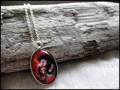 Postage Stamp Pendant  Hedgehogs by OhThePost on Etsy, $23.00    I want this!