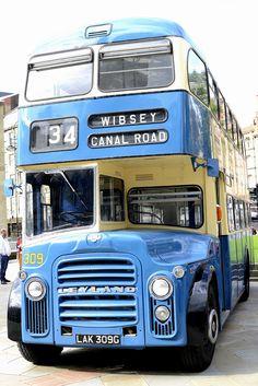 Flickr Bus City, Park City, Vintage Trucks, Old Trucks, Bedford Buses, Bradford City, Tramway, 1970s Childhood, Routemaster