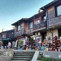 Nesebur old town square. Love the Bulgarian road trips!