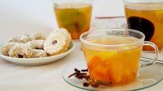 Pokud patříte k milovníkům ovocných čajů, máme pro vás recept na lahodný pečený čaj z čerstvého ovoce. Kids Meals, Pudding, Smoothie, Drinks, Desserts, Food, Drinking, Tailgate Desserts, Beverages