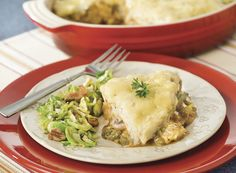 Turkey Cottage Pie and Bacon-Pecan Brussels Sprouts from Publix Aprons