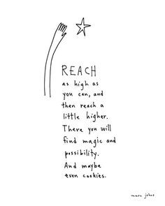 Marc Johns — reach - Signed Print Nice for a nursery or child's bedroom.