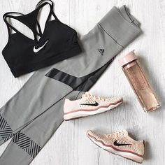 Fit kit ✨   Circuit training outfit styled by @basebodybabes.  #adidas #nike    #Regram via @sportstylist