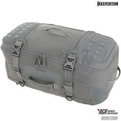Grey Maxpedition Ironstorm Adventure Travel Bag is in stock now at Military the UK based online store. We offer a massive range of shoulder bags, tactical backpacks, and MOLLE pouches, and will ship across the UK. Backpack Straps, Backpack Bags, Duffel Bag, Hunting Supplies, Hunting Bags, Hunting Gear, Tactical Bag, Outdoor Backpacks, Grey Backpacks