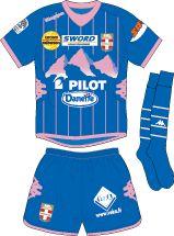 Evian GT of France away kit for 2012-13.