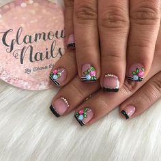 Semi Permanente, Magic Nails, Nails Design With Rhinestones, Nail Spa, French Nails, Nail Artist, Pedicure, Nail Designs, Hair Beauty