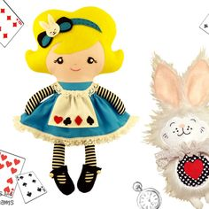 Dolls And Daydreams / Alice In Wonderland Sewing Pattern