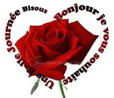 Bonjour, je vous souhaite une belle journée, bisous #bonjour rose fleur coeur Happy Tuesday Quotes, French Quotes, Relationships Love, My Princess, Facebook, Constellation, Communication, Hearts, Thoughts