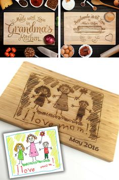 19 Unique Personalized Gifts for Mother's Day. Custom Creations That Will Move Mom (or Grandma) To Tears - what moms love Unique personalized gift ideas for Mother's Day Birthday Presents For Grandma, Grandma Gifts, Birthday Gift For Mom, Mom Presents, Dad Gifts, Diy Gifts For Mom, Homemade Gifts, Free Gifts, Customized Gifts