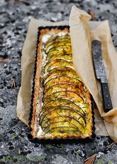 Eggplant tart