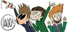 Tom,Edd and Matt