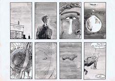 Seite 1 #ProfilComicBodenlos #SciFi #Zeichnung #Zeichner #Zeichnen