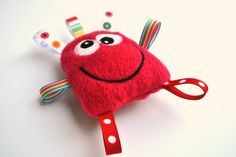 Monster Toy  Baby Monster  Cute Plush Monster  by BirdieAndDot, $8.00