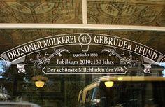 sklep mleczny w Dreźnie
