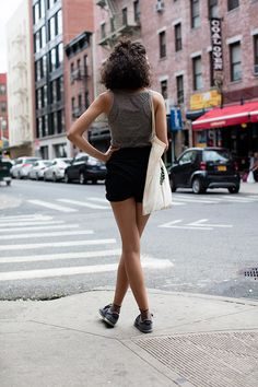 Sartorialist | On the Street…High-Waisted in Nolita, New York | Those socks