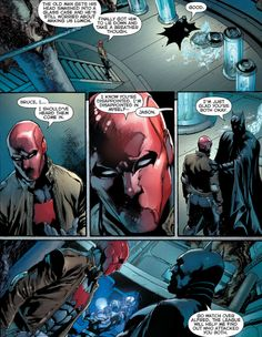 Jason and Bruce - Justice League #19