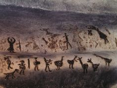 Magura Cave is located in the north west of Bulgaria and the paintings date back 8000-4000 years ago. An excess of 700 paintings have been discovered in the large cave which depict people dancing and hunting as well as a wide range of animals. It has been discovered that the paintings were painted with bat excrement.