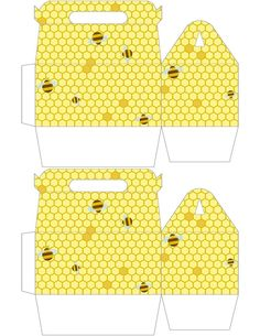 Free to use and free to use Bee Gable Box <3