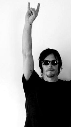 Norman Reedus <3 Met him a couple days ago, such an awesome, sweet guy!!