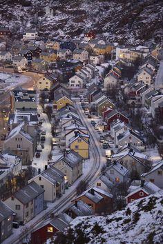 Hammerfest, Norway by (Philip Arthur LRPS)