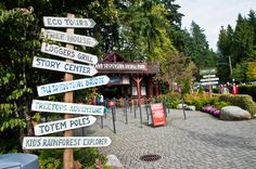 The great Capilano Suspension Bridge Park in Vancouver, BC with lots of attractions! Can't wait to visit it again in the winter...I heard they will have the tallest Christmas tree in the world this year.