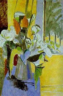 Bouquet of Flowers on the Veranda (1912-19130 HENRI MATISSE