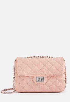 dab0ba5a8f8d Evening Soiree Crossbody Bag in Blush - Get great deals at JustFab Sko  Blända, Pink