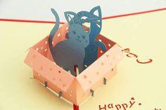 Resultado de imagem para kirigami card