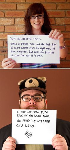 Psychological Fact-this dude is so funny .