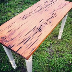 One Of Our Pecky Cypress Table Tops That Can Not Only Be